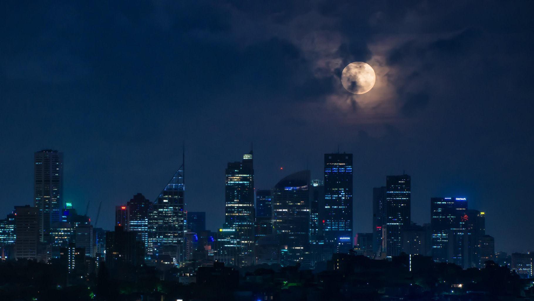 15 Ciudades Fotografiadas Por La Noche