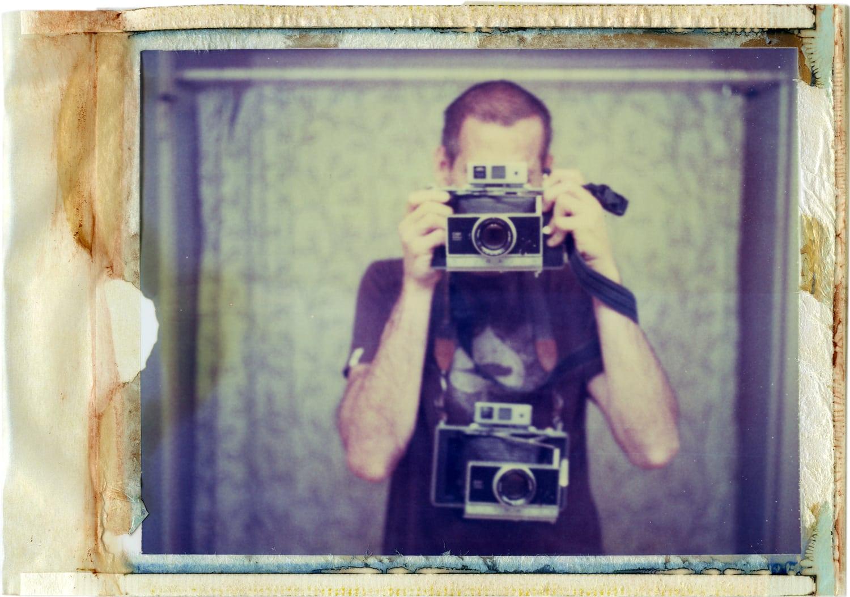 autorretrato con Polaroid