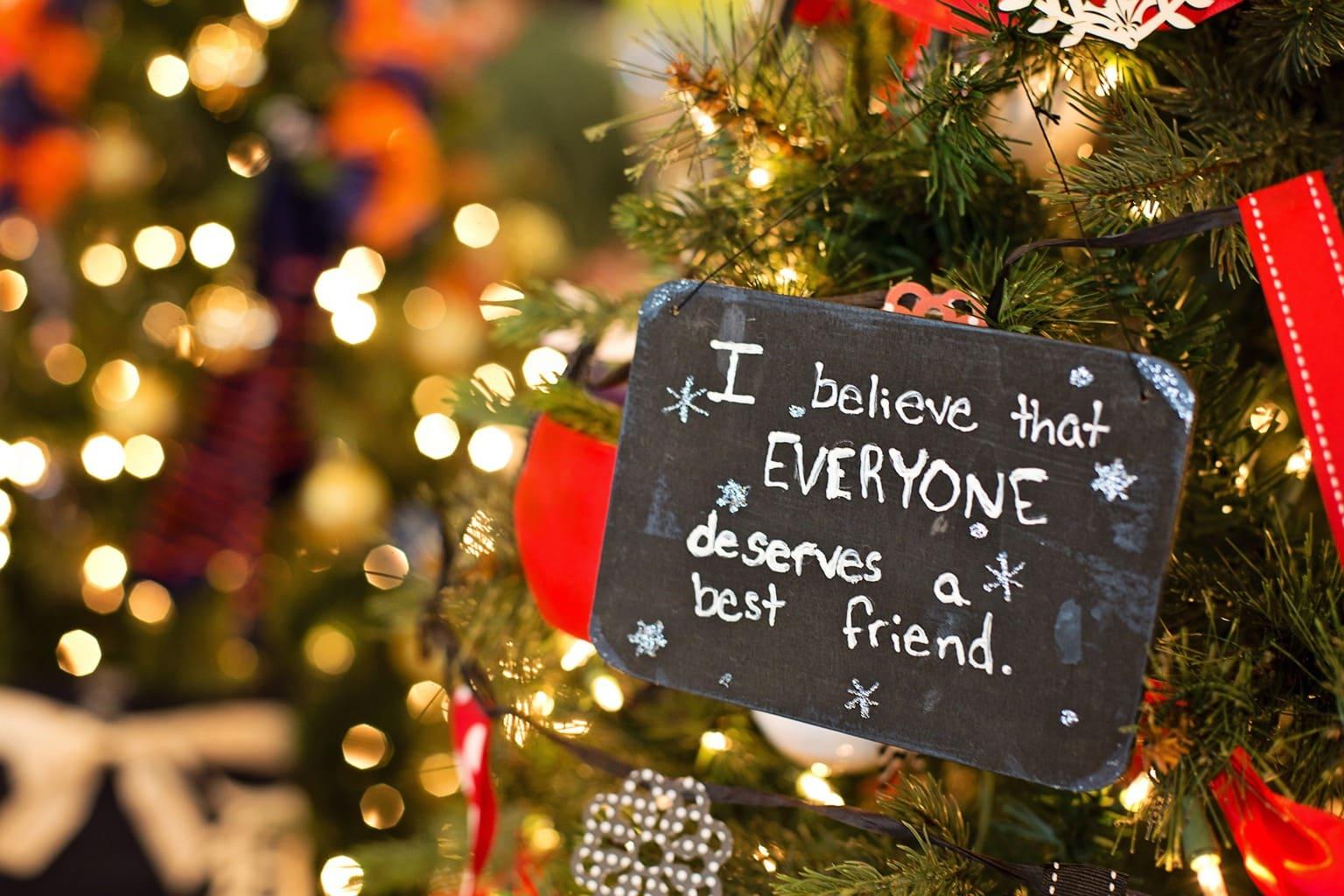 fotografía de decoración navideña
