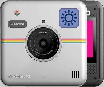 Cámara Polaroid Socialmatic