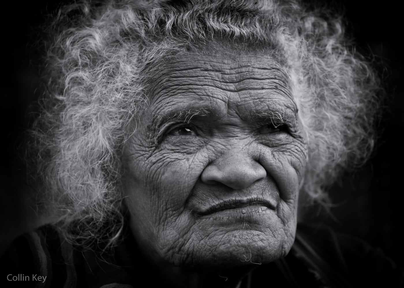 Portrait of an old Ngada Woman