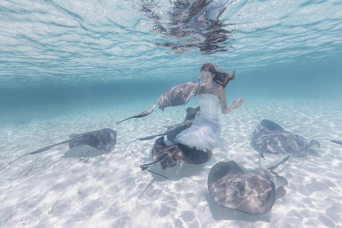 Las posibilidades del mundo submarino