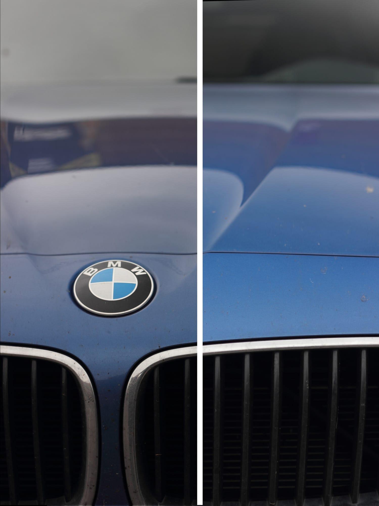 detalles de coche marca BMW