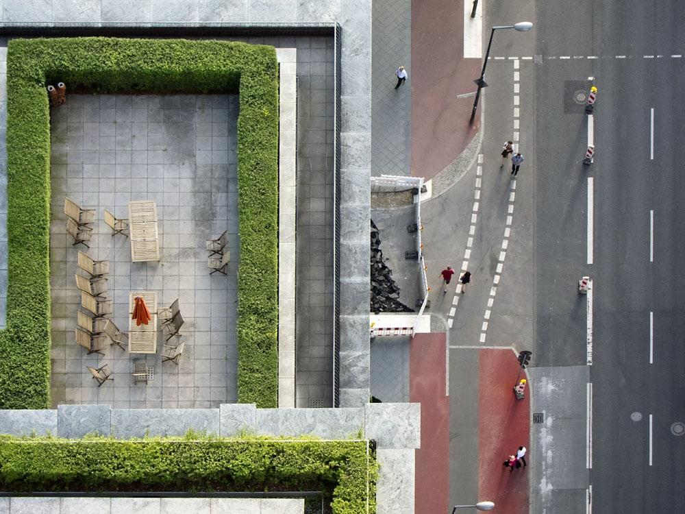 Cambio de agujas en Potsdamer Straße