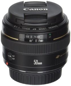 Canon 50 mm f / 1,4