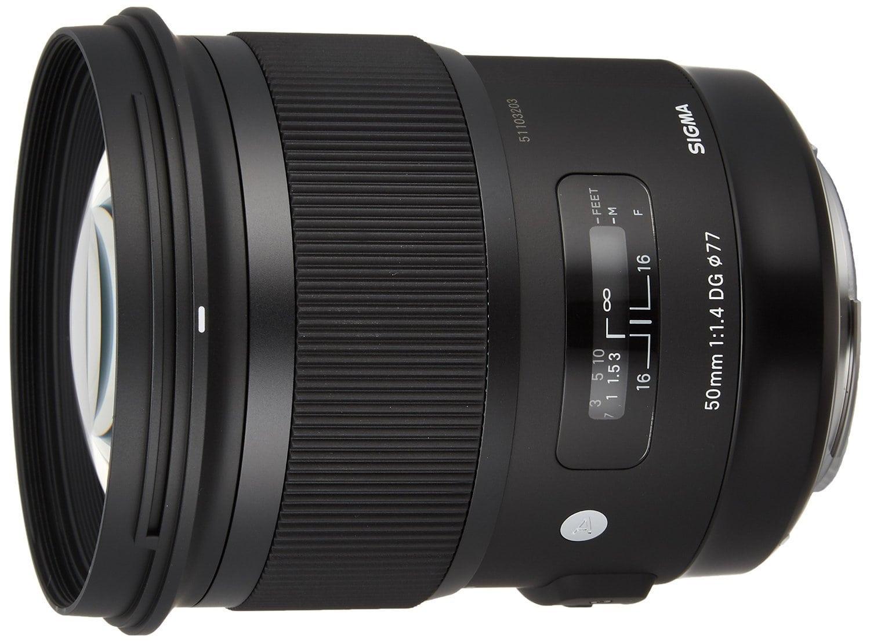 Sigma 50mm f / 1.4