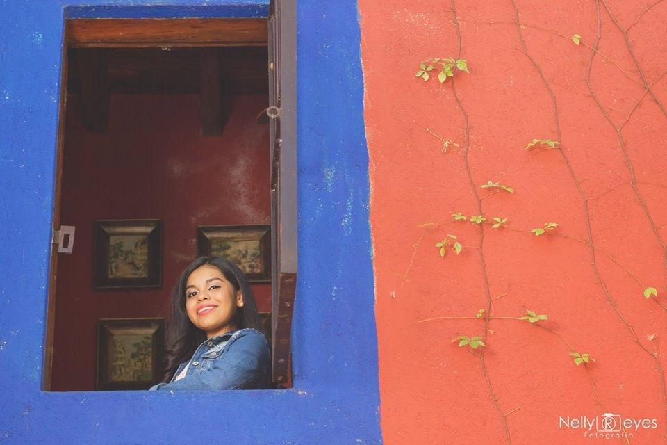 Nelly Reyes_En casa de los abuelos