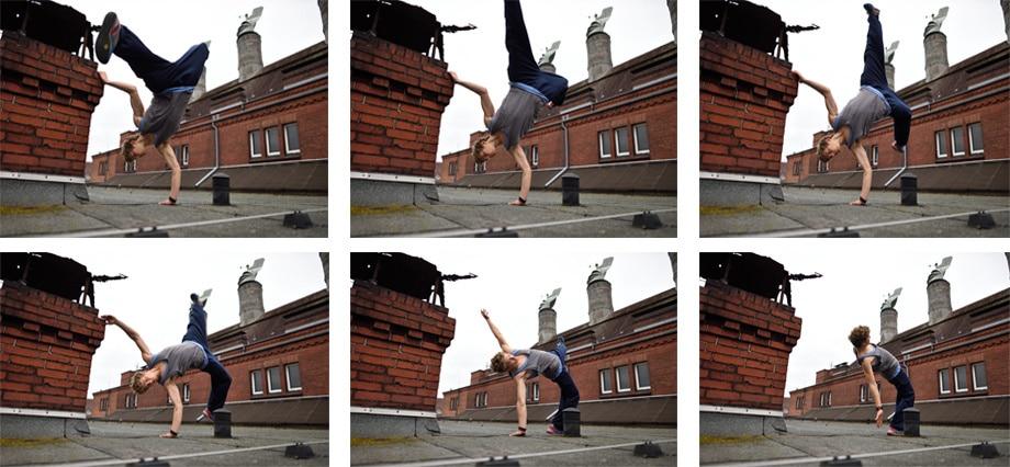 Ideal para capturar la secuencia del movimiento