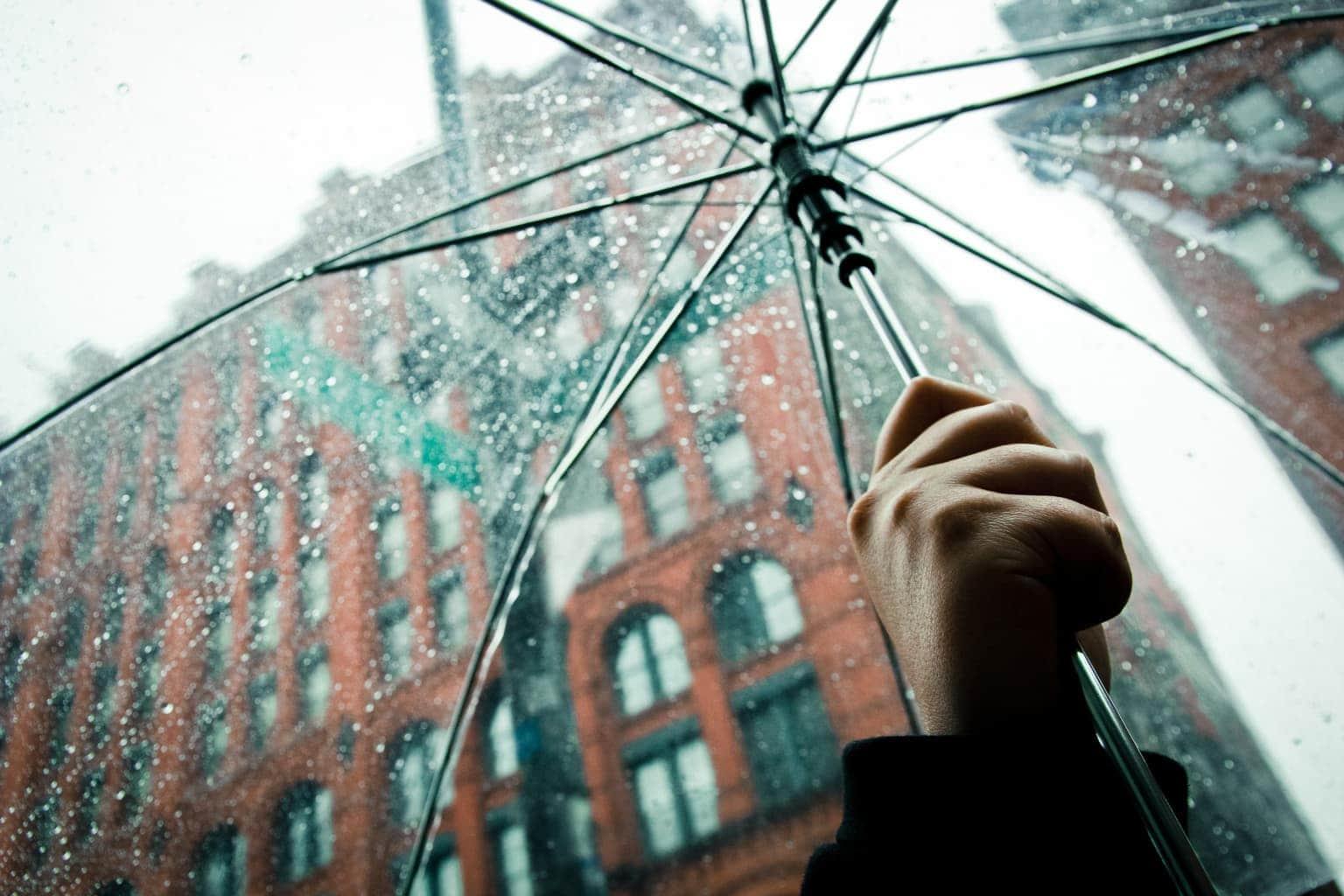 Sin miedo a la lluvia