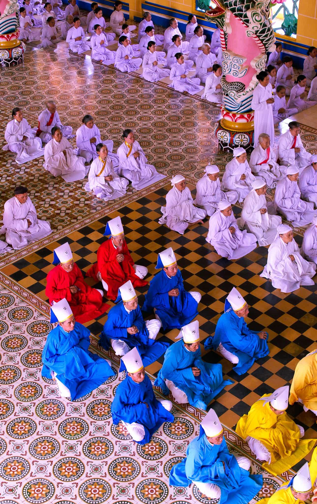 Oraciones en Vietnam