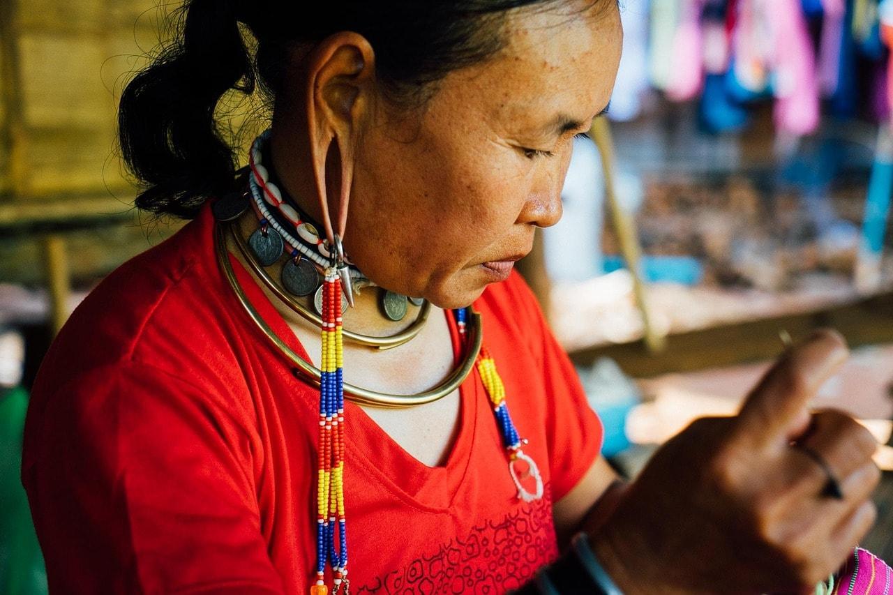 Mujer tailandesa
