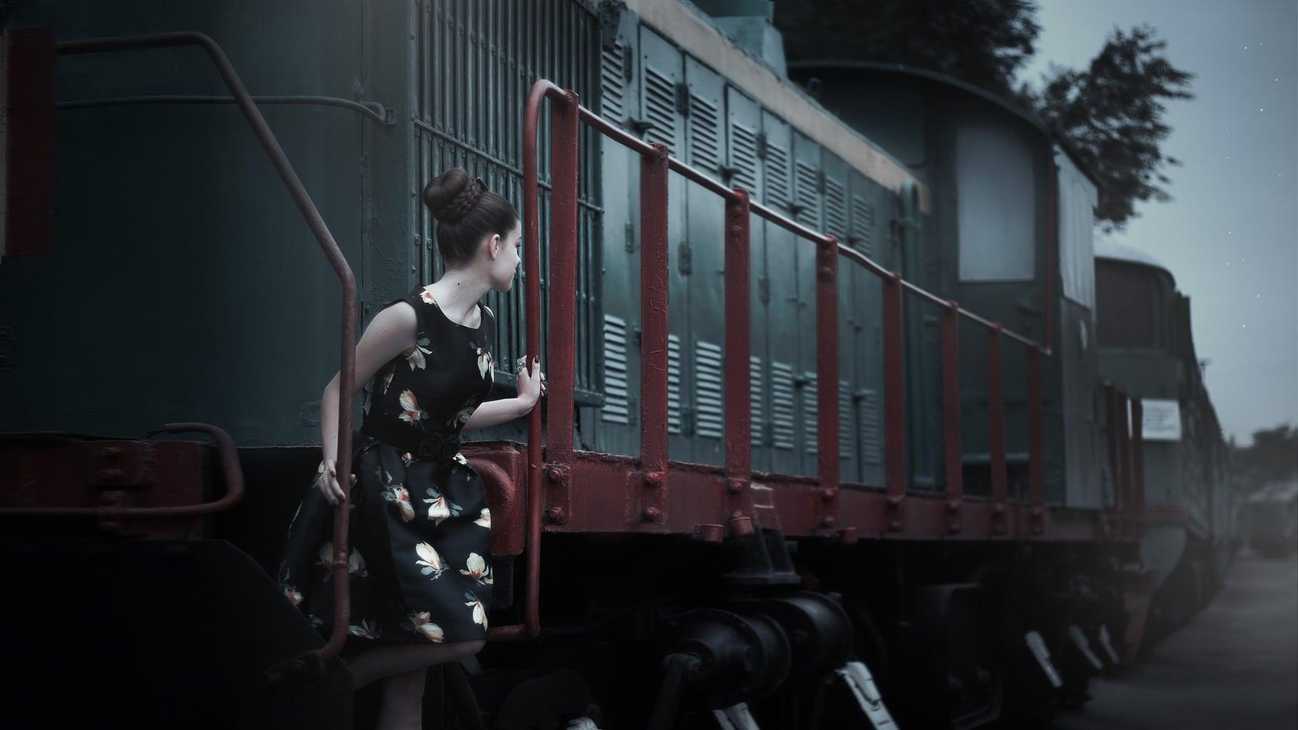 Estaciones y vías de tren