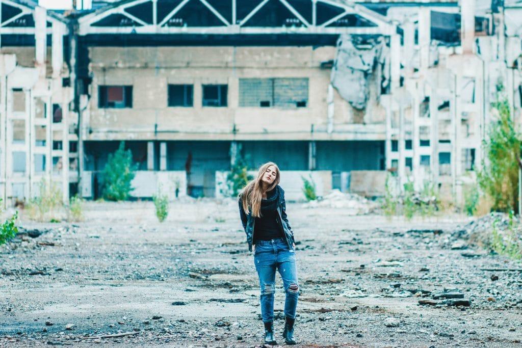 El encanto de una fábrica abandonada