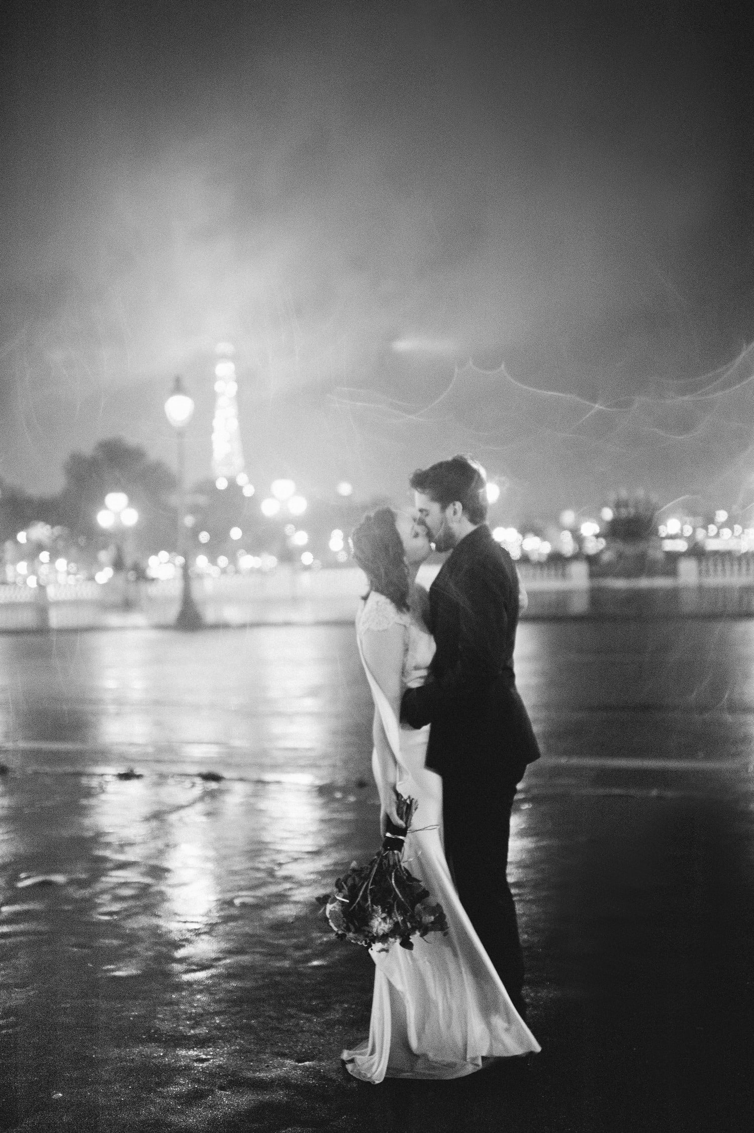 A rainy night in Paris