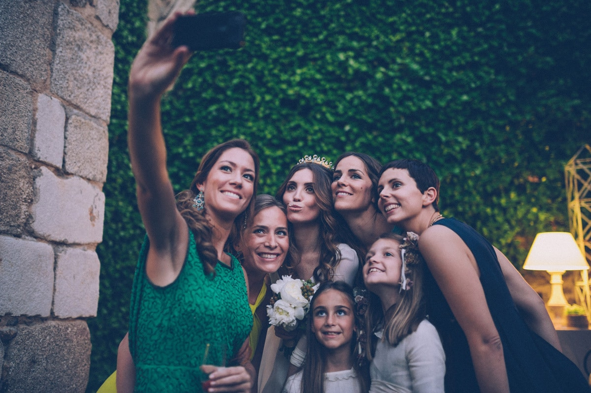 Selfie con la novia por Bossanova Weddings