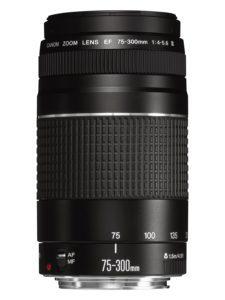 objetivo Canon EF 75-300mm superluna