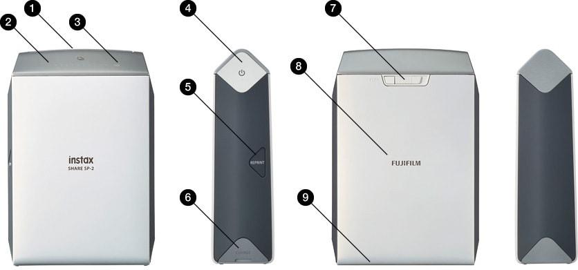 guía impresora Fujifilm Instax Share
