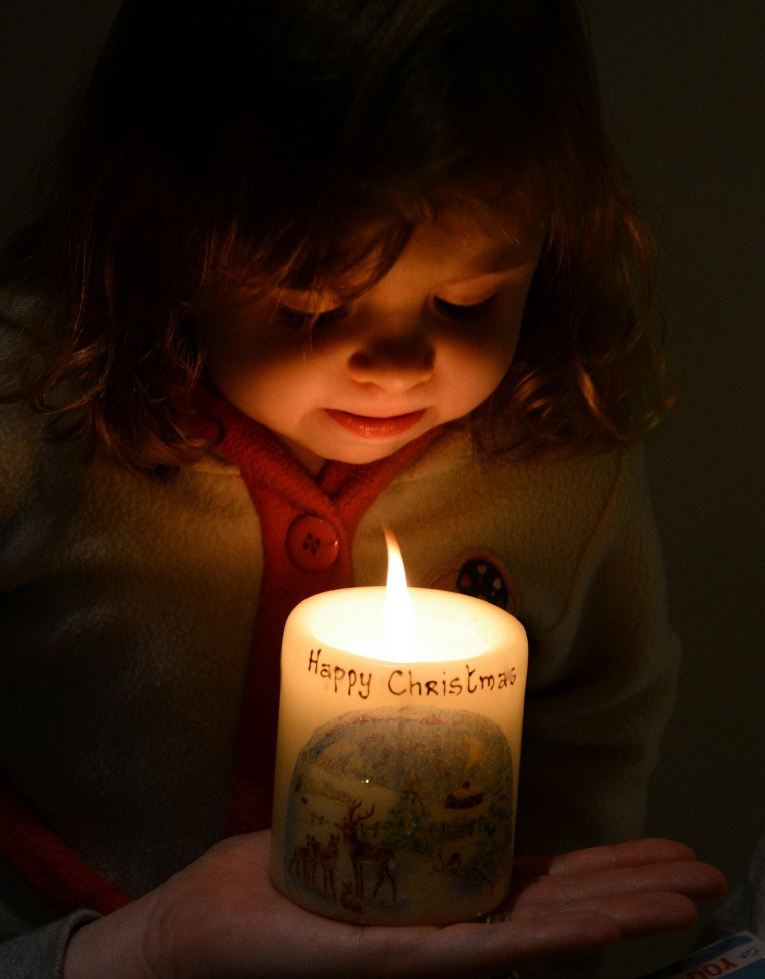 A la luz de las velas todo parece más mágico