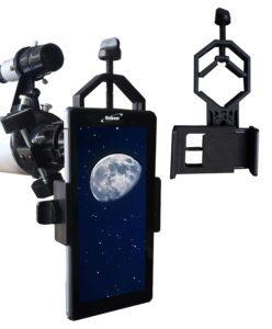 Adaptador para telescopio, prismáticos y microscopio
