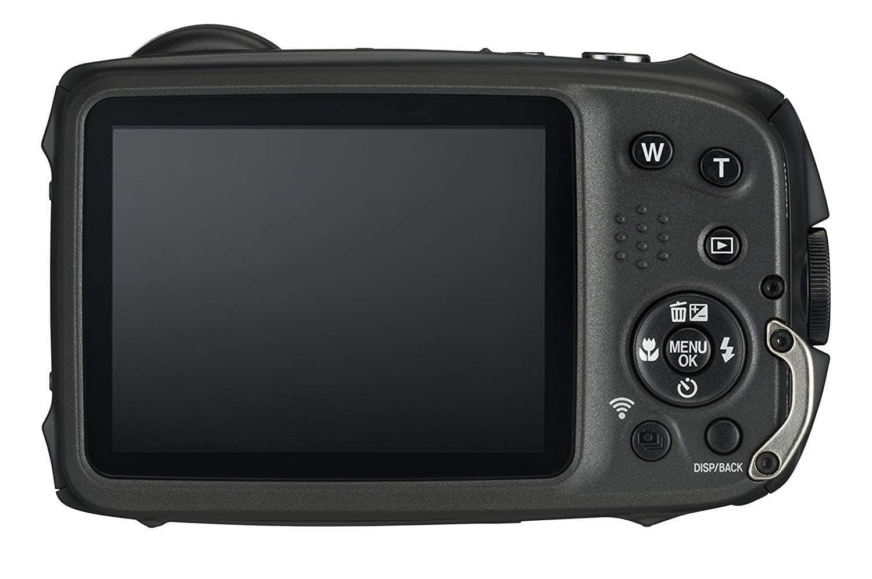 trasera cámara sumergible fujifilm
