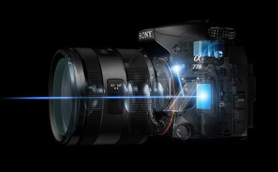 Espejo cámara Sony A77 II