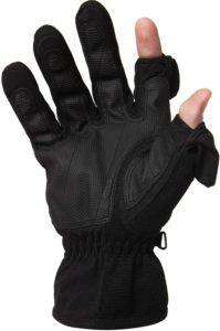 fotografía mano en unos guantes