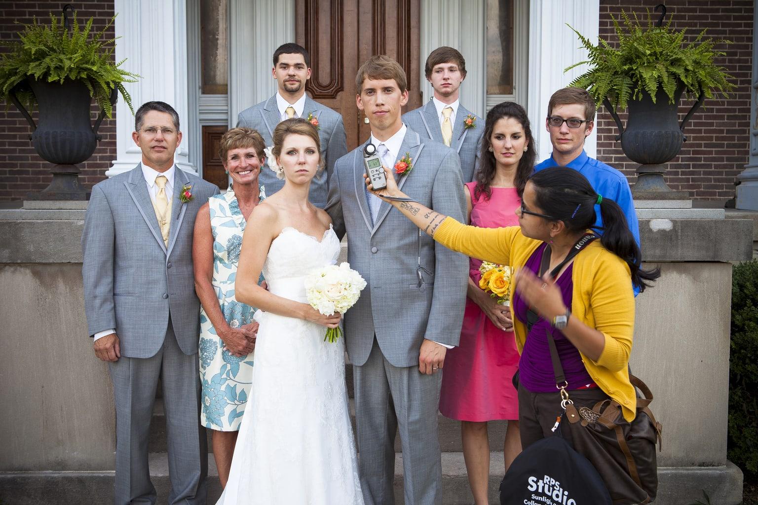 ejemplo fotografía boda con fotómetro