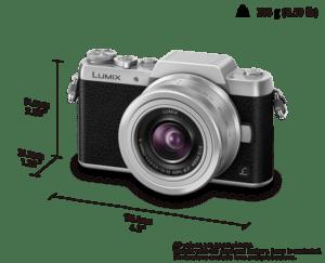 características cámara Lumix GF7