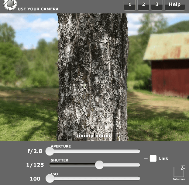 simulador Camera SLR