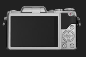 Fotografía cámara Lumix GF7 trasera