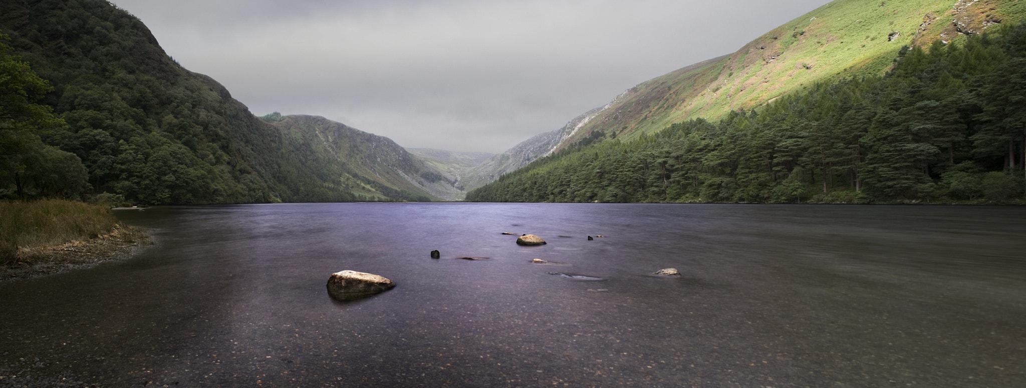 fotografía paisaje con río