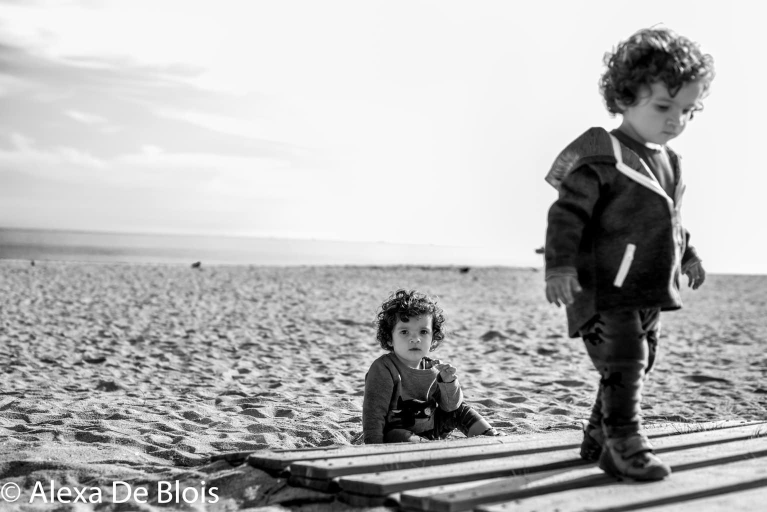 Fotografía en blanco y negro con marca de agua