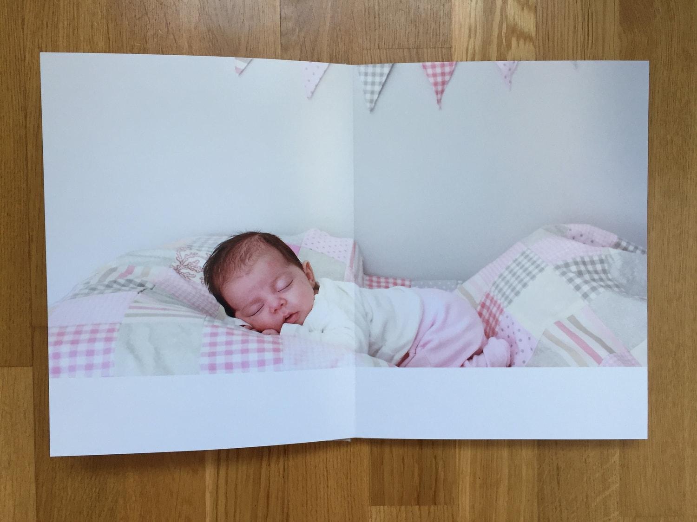 Saal ejemplo de fotografía de un bebé