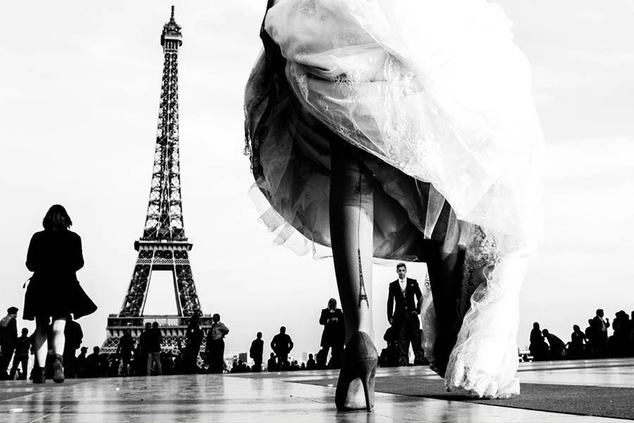 fotografía novio torre Eiffel paula boto