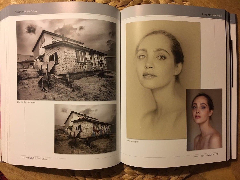 ejemplo blanco y negro libro fotografía de alta calidad