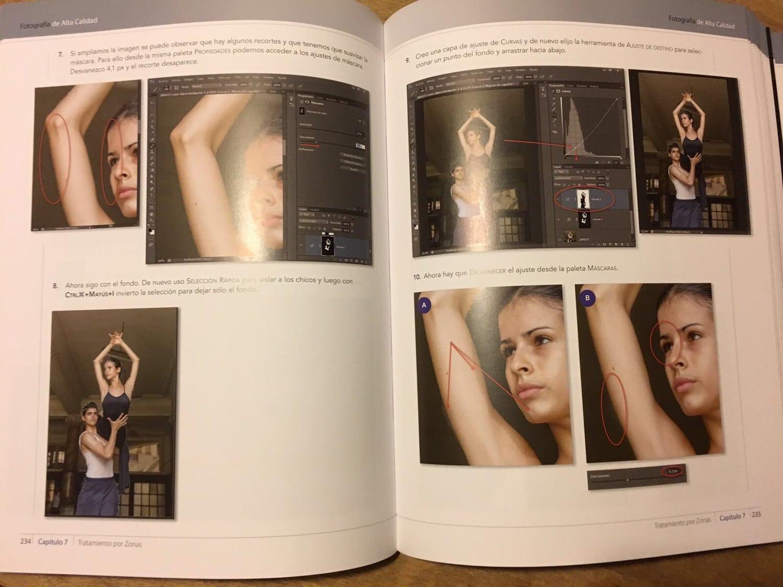 libro fotografía de alta calidad