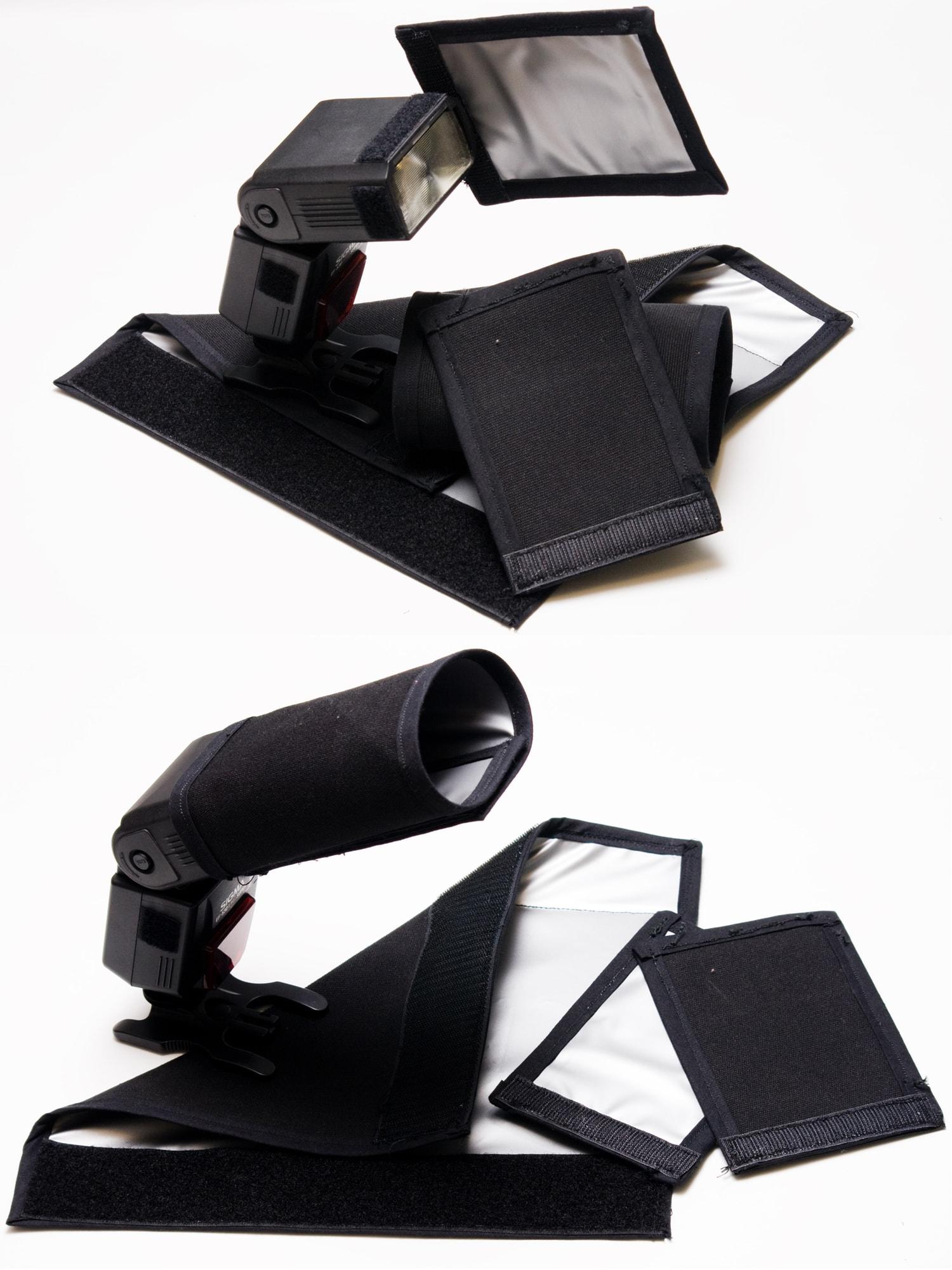 accesorio flash externo para luz dura