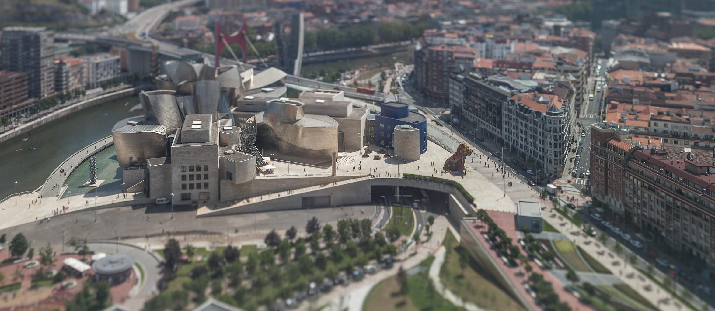 fotografía Bilbao objetivos descentrables