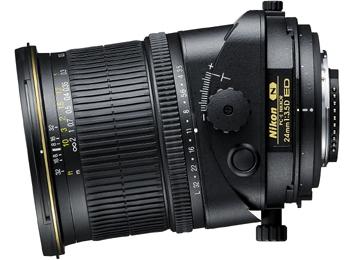 Objetivo descentrable Nikon 24mm f/3.5D PC-E