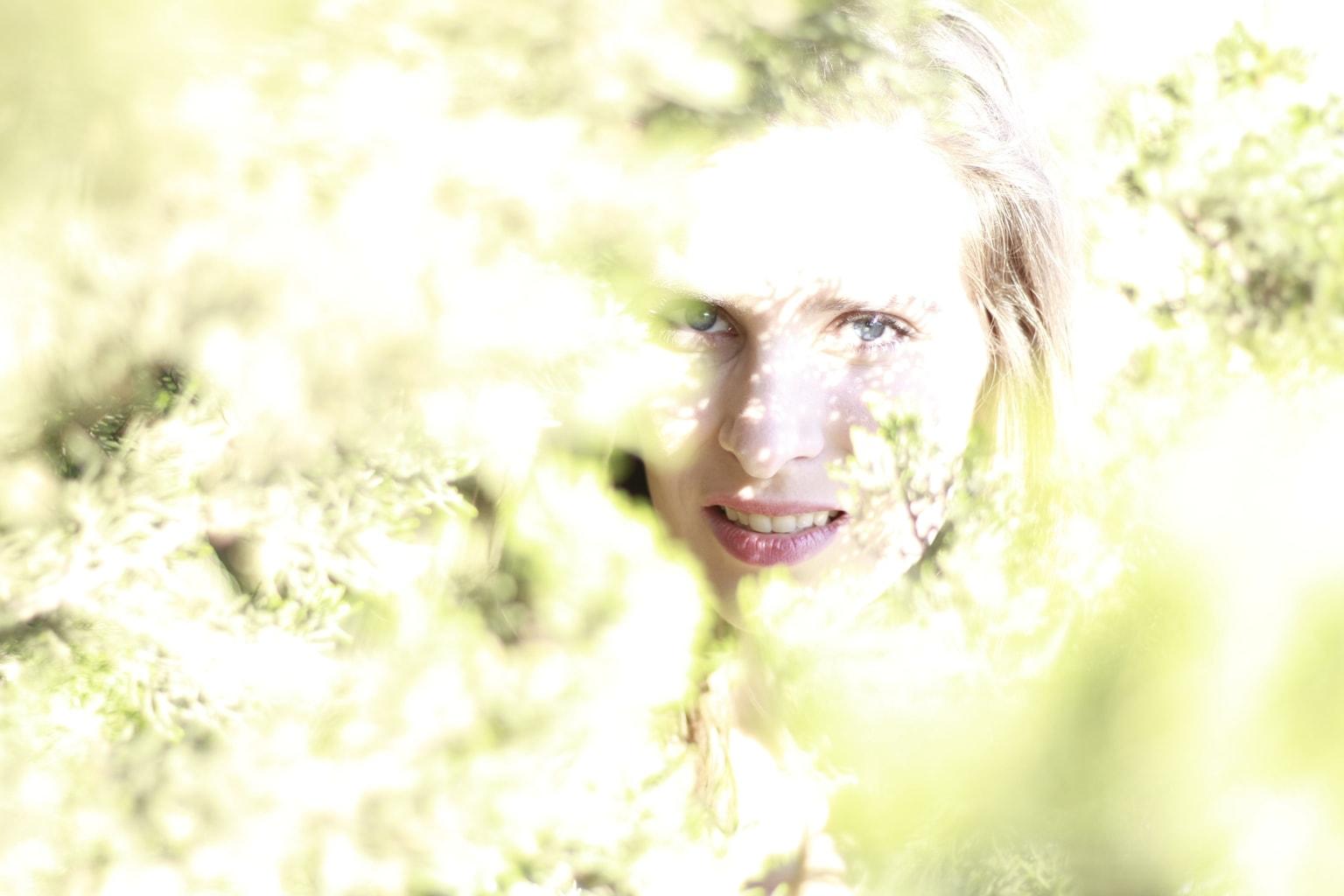 fotografía retrato chica sonríendo