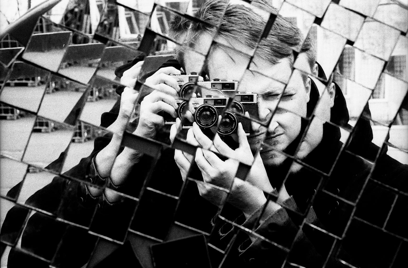 fotografía autoretrato mosaico