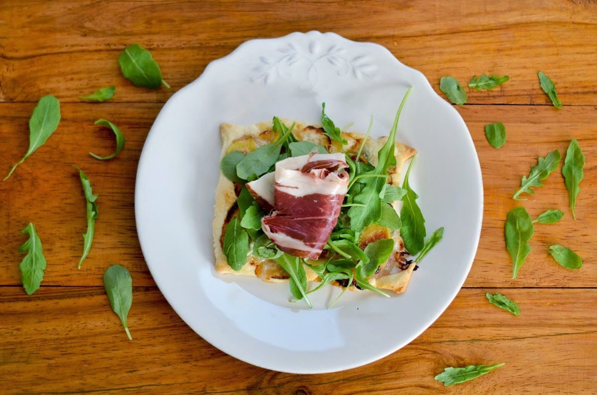 Fotografía culinaria de un plato