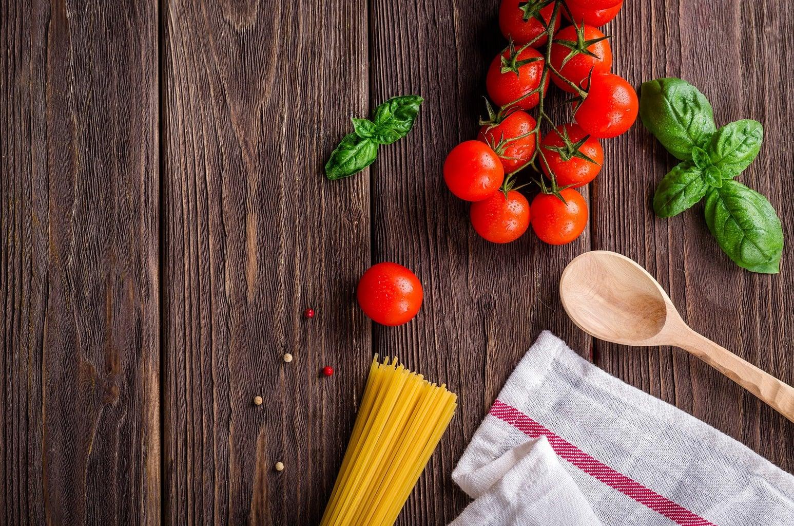 fotografía culinaria de verduras