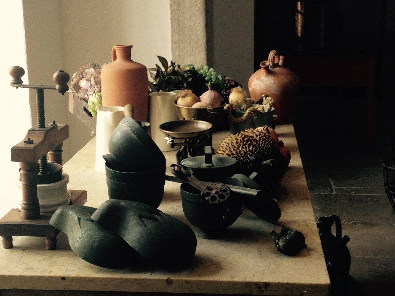 fotografía gastronómica de accesorios de cocina