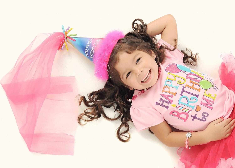 fotografía niña cumpleaños