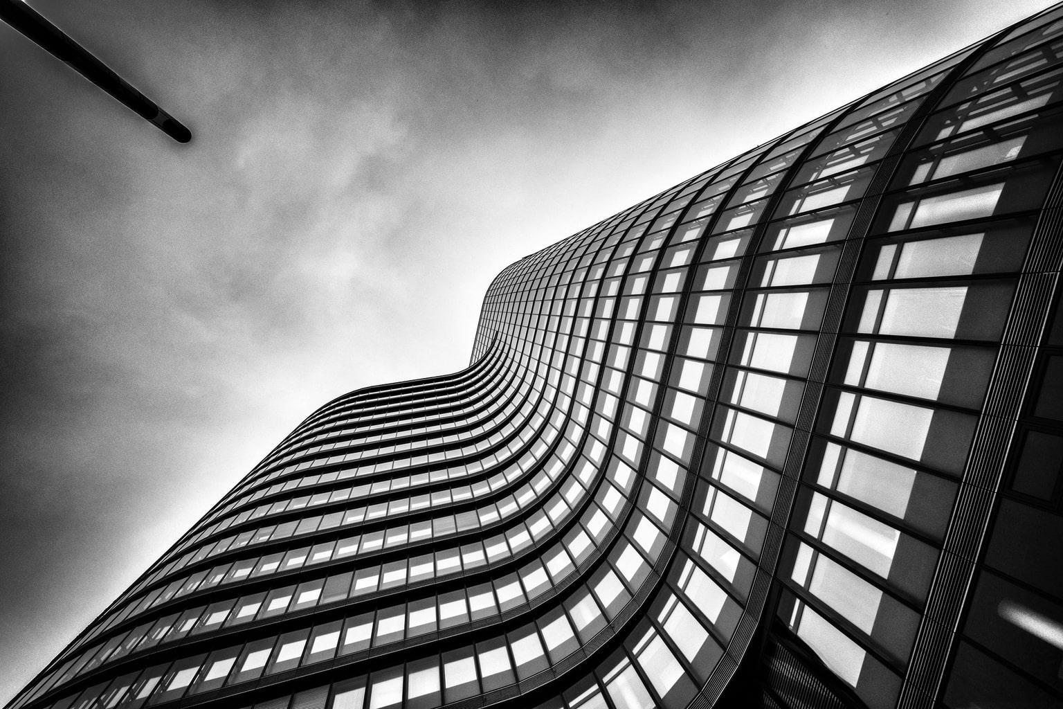 fotografía arquitectura edificio en blanco y negro