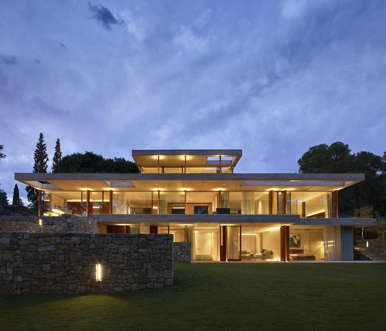 fotografía arquitectura casa moderna