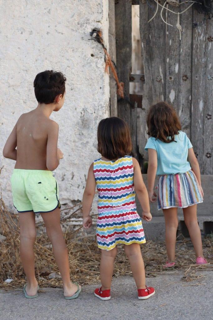 fotografía de niños tomada con de la Canon EOS 77D