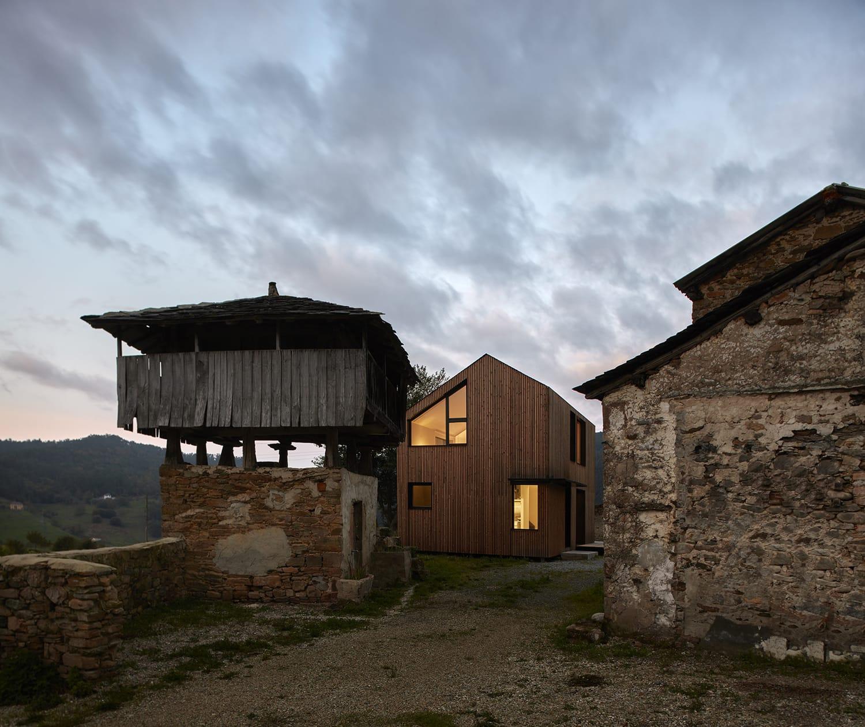 fotografía arquitectura casa rural