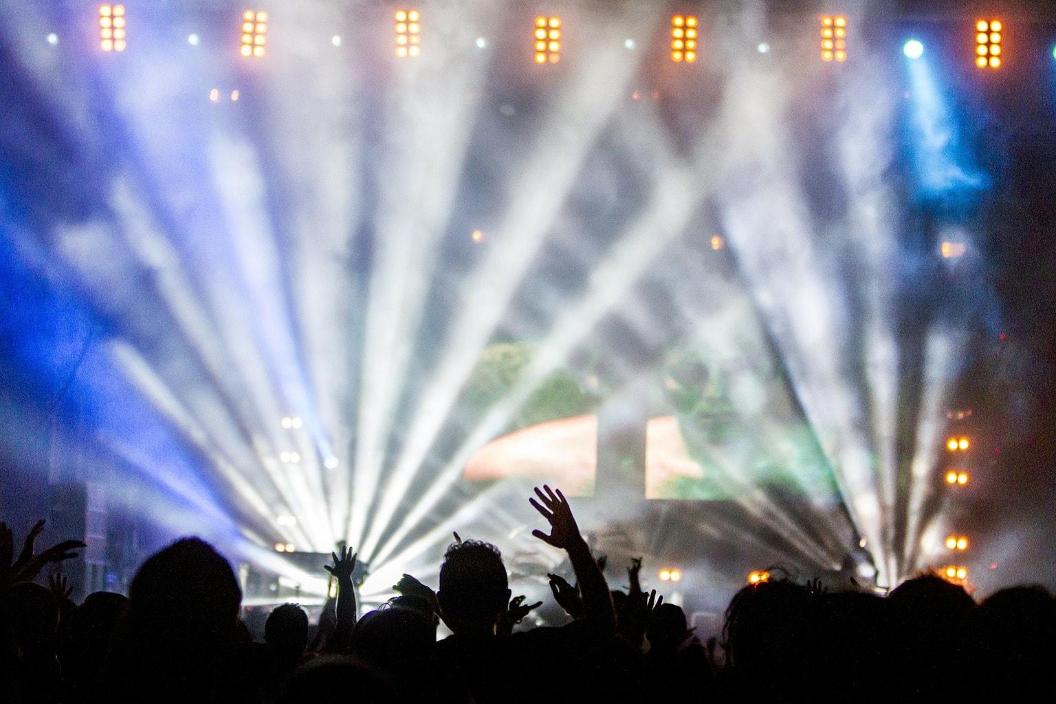 fotografía concierto